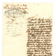 Documentos antiguos: ISLA DE CUBA. INTENDENCIA GENERAL DEL EJERCITO Y DE LA REAL HACIENDA.. Lote 156912252