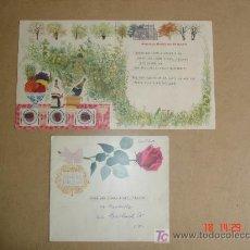 Documentos antiguos: WEDDING GREETINGS TELEGRAM - 28/07/1959 - GLASGOW - CON SU SOBRE ORIGINAL. Lote 18316737