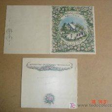 Documentos antiguos: WEDDING GREETINGS TELEGRAM - 28/07/1959 - GLASGOW - CON SU SOBRE ORIGINAL. Lote 18316795