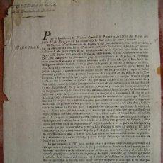 Documentos antiguos: UTILIZACION DEL DICCIONARIO GEOGRAFICO ESTADISTICO DE ESPAÑA Y PORTUGAL 1826 Nº101. Lote 27597947