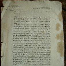 Documentos antiguos: SOBRE LAS LEYES DE LAS CORTES Y SU CELEBRACION REINO DE NAVARRA Y CASTILLA Y LEON 1824 Nº 92 2 HOJAS. Lote 25922305