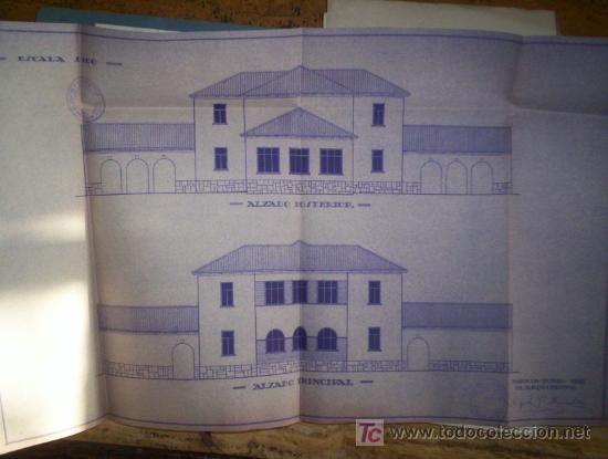 COMPLETO PROYECTO ESCUELAS REPUBLICA 1935 IDBES ZARAGOZA (Coleccionismo - Documentos - Otros documentos)