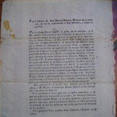 Documentos antiguos: DE UNAS GAZETAS SE HAN INSERTADO NOTICIAS DE LAS MARCHAS DE LOS EJERCITOS Y REALES DECRET1809 Nº 73. Lote 26041273