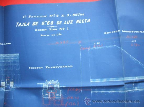 Documentos antiguos: FERROCARRIL - 1876 - Lote de documentos y plano - Linea de Gerona a la frontera - Foto 2 - 26852145