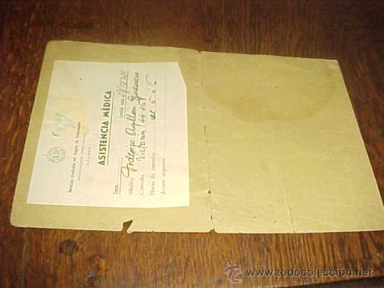Documentos antiguos: CAJA NACIONAL DE SEGURO DE ENFERMEDAD. INSTITUTO NACIONAL DE PREVISION. - Foto 2 - 19555774