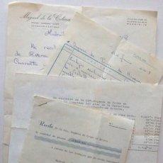 Documentos antiguos: FACTURAS Y VARIOS DOCUMENTOS DIRIGIDOS A LA SRA. DUQUESA DE PRIMO DE RIVERA. AÑOS 60. ENVIO GRATIS¡¡. Lote 19610699
