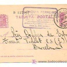 Documentos antiguos: TARJETA POSTAL. . Lote 19783545