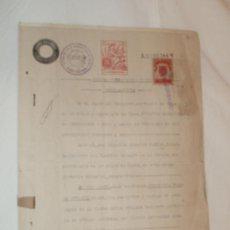 Documentos antiguos: DOCUMENTO DE COMPRA-VENTA DEL AÑO 1942. Lote 25731043