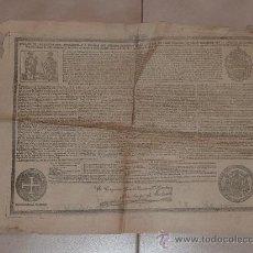 Documentos antiguos: RARO PAPEL RELIGIOSO DE 1913. DE LEON XIII, LIMOSNAS. SANTA CRUZADA. AGRADEZCO INFORMACION.. Lote 23783022