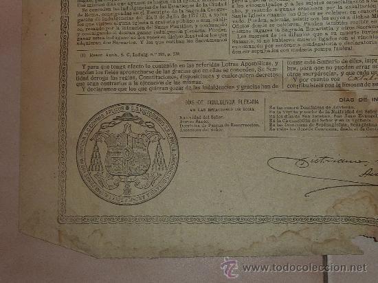 Documentos antiguos: raro papel religioso de 1918. De Benedicto XV, limosnas. Santa Cruzada. Agradezco informacion. - Foto 2 - 23783003