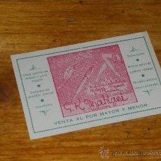 Documentos antiguos: TARJETA COMERCIAL G K MAHTANI, NOVEDADES BAZAR. TANGER 1954.. Lote 23501812