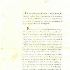 Documentos antiguos: HABANA – 1827 .. CAPITANÍA GENERAL DE LA ISLA. Lote 25289378