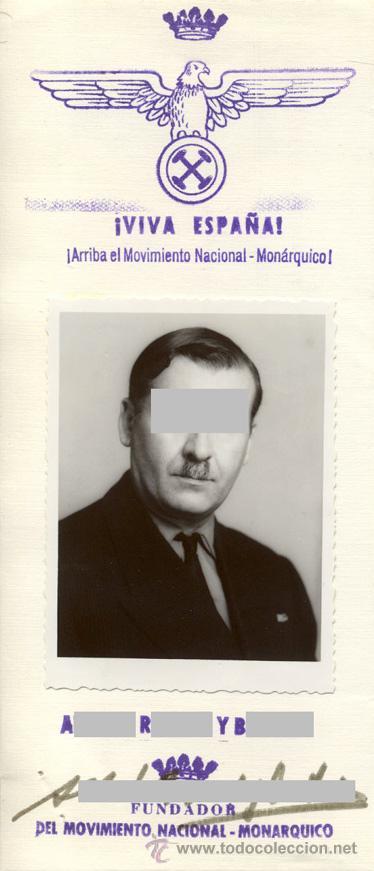 Documentos antiguos: El Movimiento Nacional-Monárquico propone dos concentraciones en estadio Bernabeu -- 3 docs. de 1972 - Foto 3 - 28473604