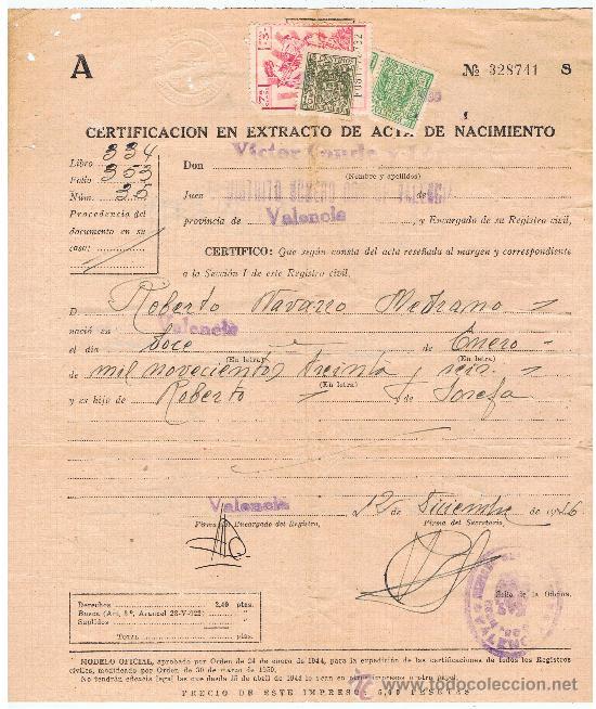 Contemporáneo Certificado De Nacimiento De Maine Composición - Cómo ...