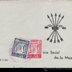 Documentos antiguos: SERVICIO SOCIAL DE LA MUJER - F.E.T. Y DE LAS J.O.N.S. - 1953. Lote 28692977