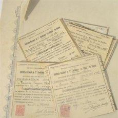 Documentos antiguos: 31 MATRICULA DE INSTITUTO NACIONAL DE 2º ENSEÑANZA LA RABIDA DE HUELVA 1934. Lote 29487731