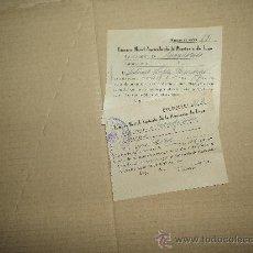 Documentos antiguos: LOTE PAPELES CONTRIBUCIÓN. Lote 30077812