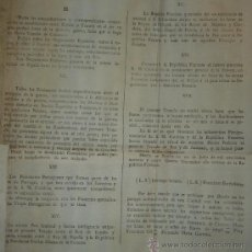 Documentos antiguos: 1796-BANDO.FIN GUERRA ESPAÑA-FRANCIA.LIMA.ENORME 60X45 CM.IMPORTANTE.DE LOS POCOS QUE DEBEN QUEDAR. Lote 30761079