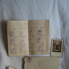 Documentos antiguos: TOLOSA JUNTA LIGA FORAL CARLISTA CARLISMO AUTONOMÍA VASCA NACIONALISMO. Lote 30788511