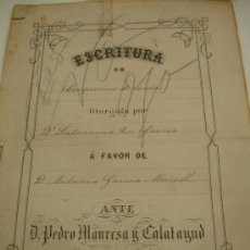 Documentos antiguos: DOCUMENTO HERENCIA 1885 MURCIA. Lote 31287703