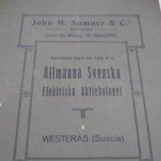 Documentos antiguos: ALHAMA DE MURCIA - ARCHIVO DE ELECTRICA ALHAMEÑA SA . Lote 31300080