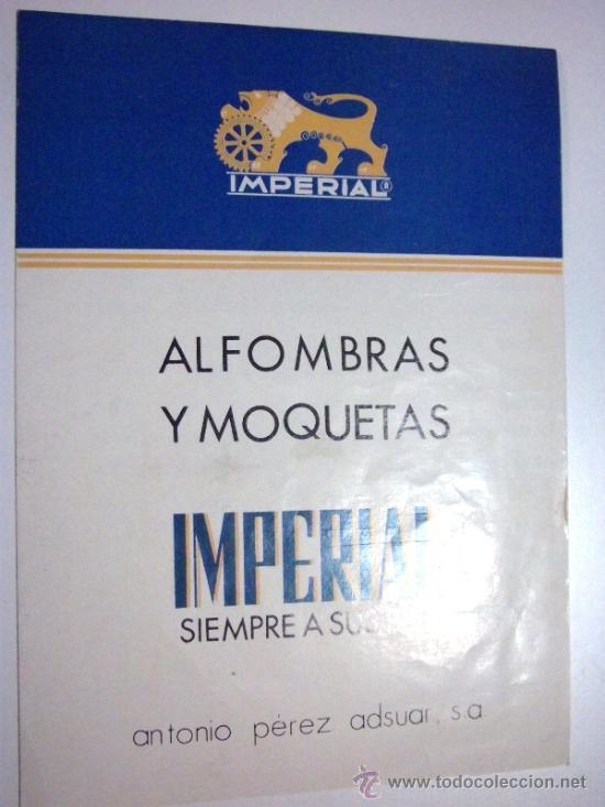 Cat logo de precios de alfombras imperial enero comprar for Precio de alfombras