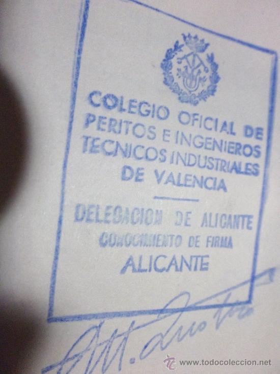 Documentos antiguos: PLANOS DE CONSTRUCCIÓN EN UN ESTABLECIMIENTO DE ·· PROYECTO BARBACOA · LA NUCIA · ALICANTE - Foto 4 - 31758892