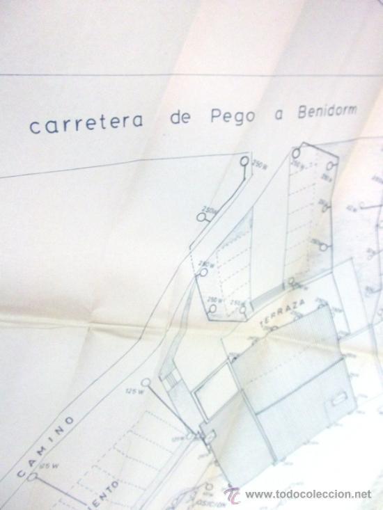 Documentos antiguos: PLANOS DE CONSTRUCCIÓN EN UN ESTABLECIMIENTO DE ·· PROYECTO BARBACOA · LA NUCIA · ALICANTE - Foto 5 - 31758892