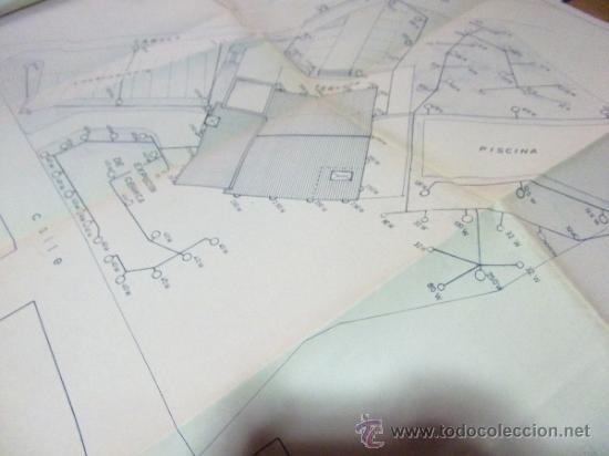 Documentos antiguos: PLANOS DE CONSTRUCCIÓN EN UN ESTABLECIMIENTO DE ·· PROYECTO BARBACOA · LA NUCIA · ALICANTE - Foto 16 - 31758892