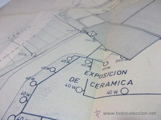 Documentos antiguos: PLANOS DE CONSTRUCCIÓN EN UN ESTABLECIMIENTO DE ·· PROYECTO BARBACOA · LA NUCIA · ALICANTE - Foto 15 - 31758892