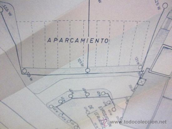 Documentos antiguos: PLANOS DE CONSTRUCCIÓN EN UN ESTABLECIMIENTO DE ·· PROYECTO BARBACOA · LA NUCIA · ALICANTE - Foto 14 - 31758892