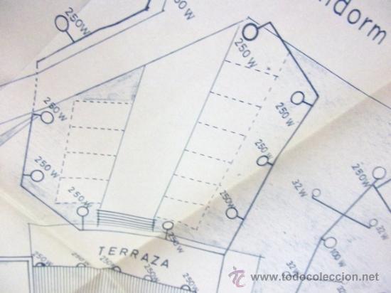 Documentos antiguos: PLANOS DE CONSTRUCCIÓN EN UN ESTABLECIMIENTO DE ·· PROYECTO BARBACOA · LA NUCIA · ALICANTE - Foto 13 - 31758892