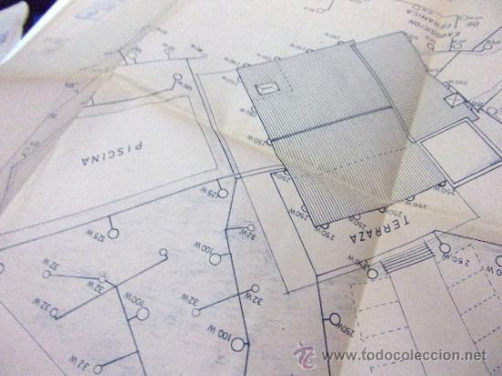 Documentos antiguos: PLANOS DE CONSTRUCCIÓN EN UN ESTABLECIMIENTO DE ·· PROYECTO BARBACOA · LA NUCIA · ALICANTE - Foto 12 - 31758892