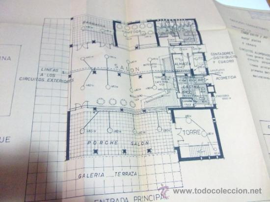 Documentos antiguos: PLANOS DE CONSTRUCCIÓN EN UN ESTABLECIMIENTO DE ·· PROYECTO BARBACOA · LA NUCIA · ALICANTE - Foto 11 - 31758892