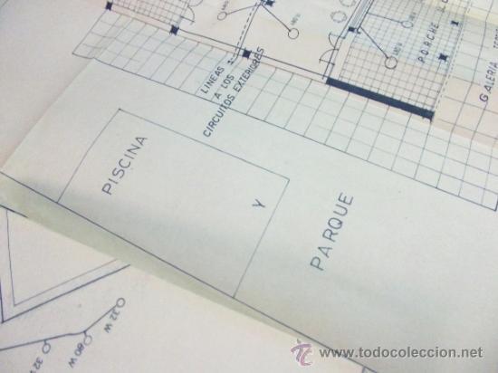 Documentos antiguos: PLANOS DE CONSTRUCCIÓN EN UN ESTABLECIMIENTO DE ·· PROYECTO BARBACOA · LA NUCIA · ALICANTE - Foto 10 - 31758892