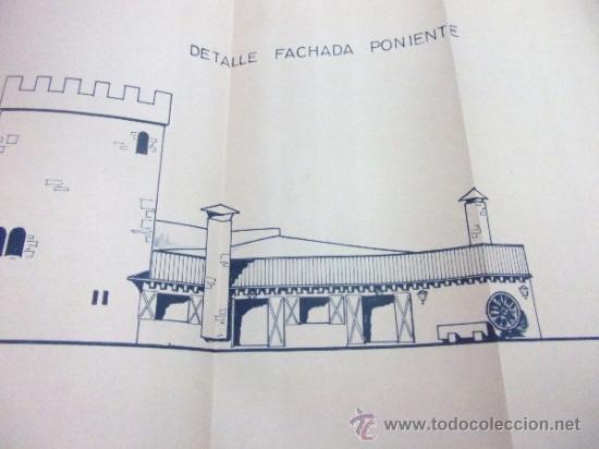 Documentos antiguos: PLANOS DE CONSTRUCCIÓN EN UN ESTABLECIMIENTO DE ·· PROYECTO BARBACOA · LA NUCIA · ALICANTE - Foto 8 - 31758892