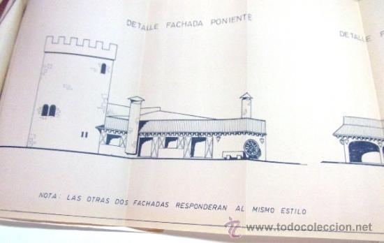 Documentos antiguos: PLANOS DE CONSTRUCCIÓN EN UN ESTABLECIMIENTO DE ·· PROYECTO BARBACOA · LA NUCIA · ALICANTE - Foto 18 - 31758892