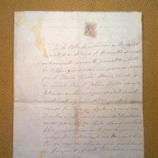 Documentos antiguos: ESCRITURA COMPRA VENTA 1894. Lote 32304095
