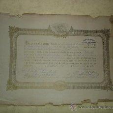 Documentos antiguos: DIPLOMA DE MERITO - COLEGIO DE CICERON - MADRID, 22 DE DICIEMBRE DE 1891 - 39 X 28 CM. APROX. Lote 32590344