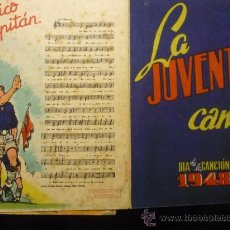 Documentos antiguos: LA JUVENTUD CANTA - DIA DE LA CANCION 1948 FALANGE. Lote 32628862