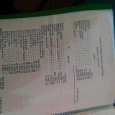 Documentos antiguos: 1935 LOTE 18 DOCUMENTOS MUTUA ESCOLAR BLANQUERNA BARCELONA ENSEÑANZA MUNDO DEPORTIVO ALEXANDRE GRAU . Lote 33672728
