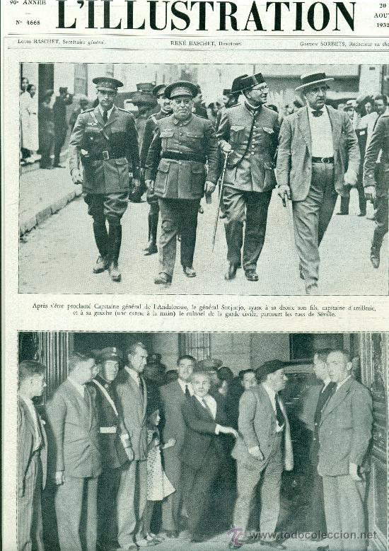 Resultado de imagen de sanjurjada 1932