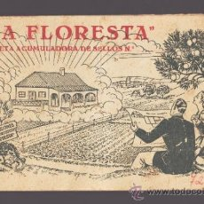 Documentos antiguos: FINCAS LA FLORESTA - LIBRETA DE CUPONES PARA LA COMPRA DE TERRENOS EN REUS Y SALOU - 1950. Lote 155704536