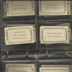 Documentos antiguos: FARMACIA. 48 ETIQUETAS GRABADAS DE MEDIADOS DEL S. XIX CON EL NOMBRE DE ANTIGUOS MEDICAMENTOS.. Lote 34377984