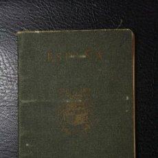 Documentos antiguos: PASAPORTE ESPAÑOL EXPEDIDO AÑO 1948 BARCELONA ANULADO - MULTIPLES VISADOS FRANCIA E ITALIA. Lote 34452981