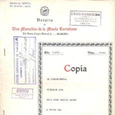 Documentos antiguos: IBIZA 1983- ESCRITURA DE COMPRA-VENTA DE UNA CASA. Lote 34940867