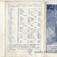 Documentos antiguos: TRIPTICO DE LA EXPO INTERNACIONAL DE BARCELONA 1929 - GENTIEZA DE TELEFONICA CTNE. Lote 35119895