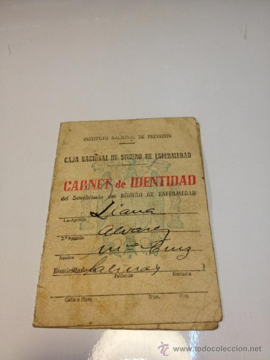CARNET DE IDENTIDAD 1945 COMPAÑÍA ASTURIANA DE MINAS (Coleccionismo - Documentos - Otros documentos)
