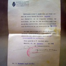 Documentos antiguos: DOCUMENTO, DOCUMENTO ANTIGUO, MINISTERIO DE HACIENDA, 1922, REAL ORDENANZA. Lote 35377485