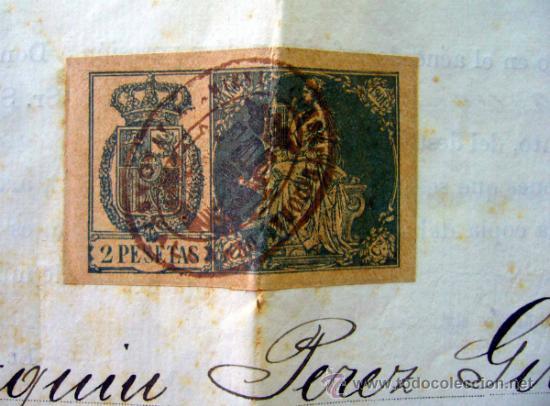 Documentos antiguos: DOCUMENTO, DOCUMENTO ANTIGUO, TITULO DE ENCARGADO INTERNO DEL RELOJ PUBLICO, 1901 - Foto 7 - 35377393